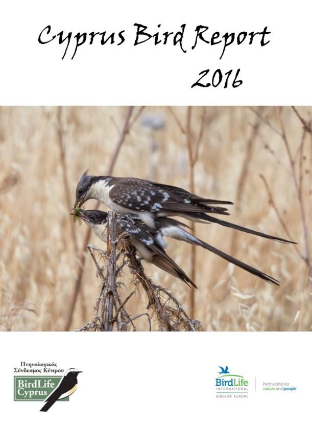 Cyprus Bird Report 2016